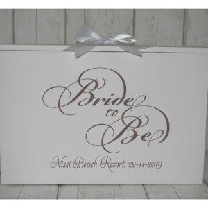 wedding dress box