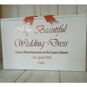 luxury wedding dress boxes