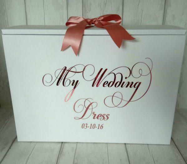 my wedding dress box