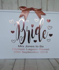 travel box for cyprus bride