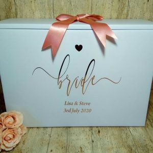 wedding travel box for airplane hand luggage