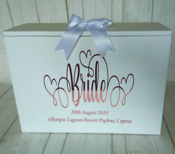 personalised bride box